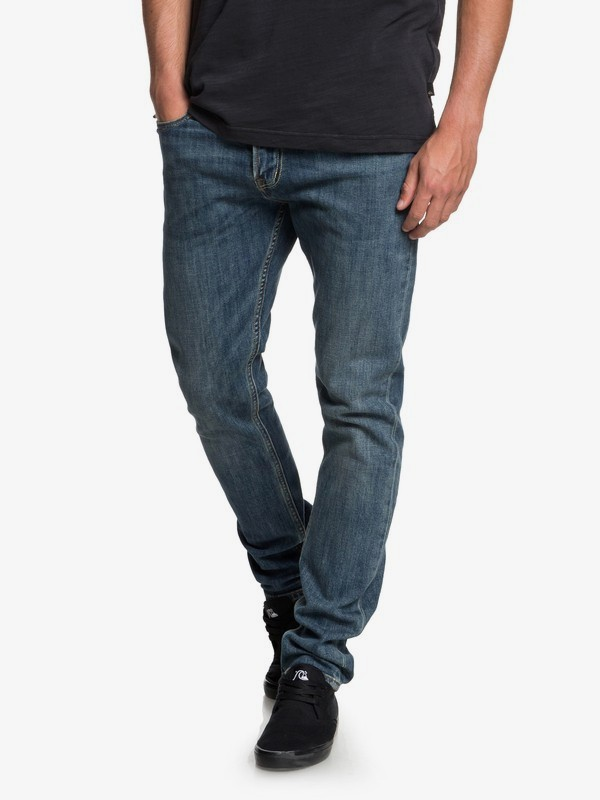 Distorsion Medium Blue - Slim Fit Jeans for Men  EQYDP03374