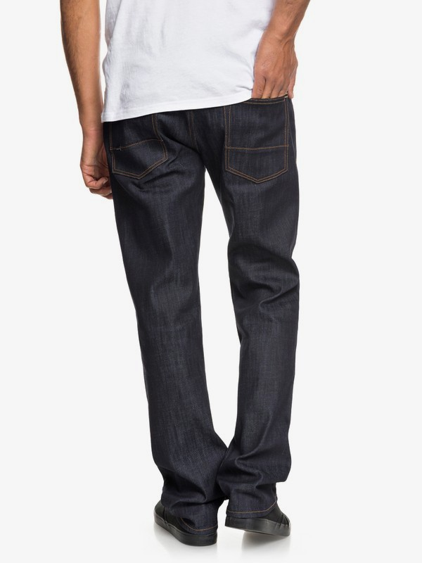 Sequel Rinse - Regular Fit Stretch Jeans for Men  EQYDP03376
