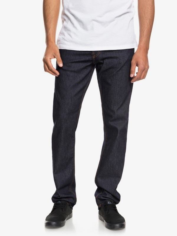 0 Revolver Cold Weather - Straight Fit Jeans for Men Blue EQYDP03379 Quiksilver