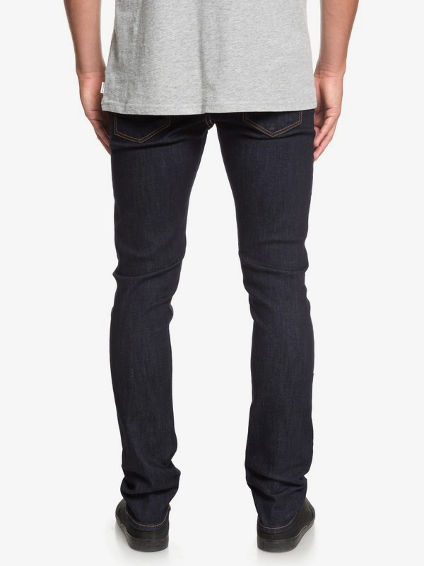 Distorsion Rinse - Slim Fit Jeans for Men  EQYDP03395