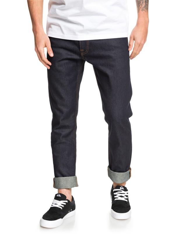 0 Distorsion Rinse - Slim Fit Jeans for Men Blue EQYDP03399 Quiksilver