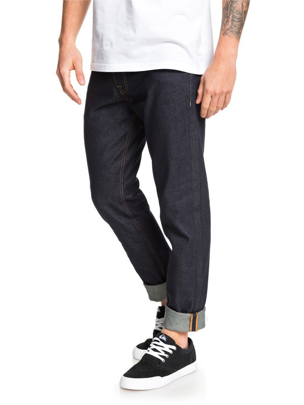 Distorsion Rinse - Slim Fit Jeans for Men  EQYDP03399