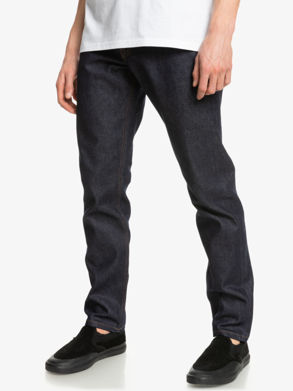 Modern Wave Rinse - Straight Fit Jeans for Men  EQYDP03400