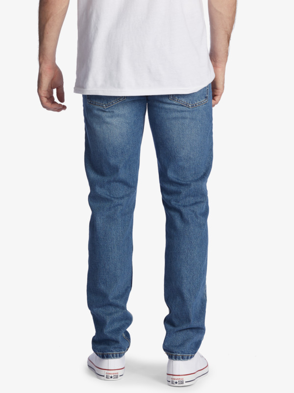 Modern Wave Aged - Straight Fit Jeans for Men  EQYDP03404
