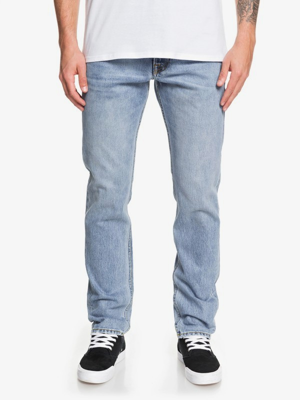 Modern Wave Salt Water - Straight Fit Jeans for Men  EQYDP03409