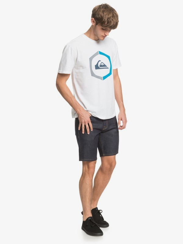 Modern Wave Rinse - Denim Shorts  EQYDS03091