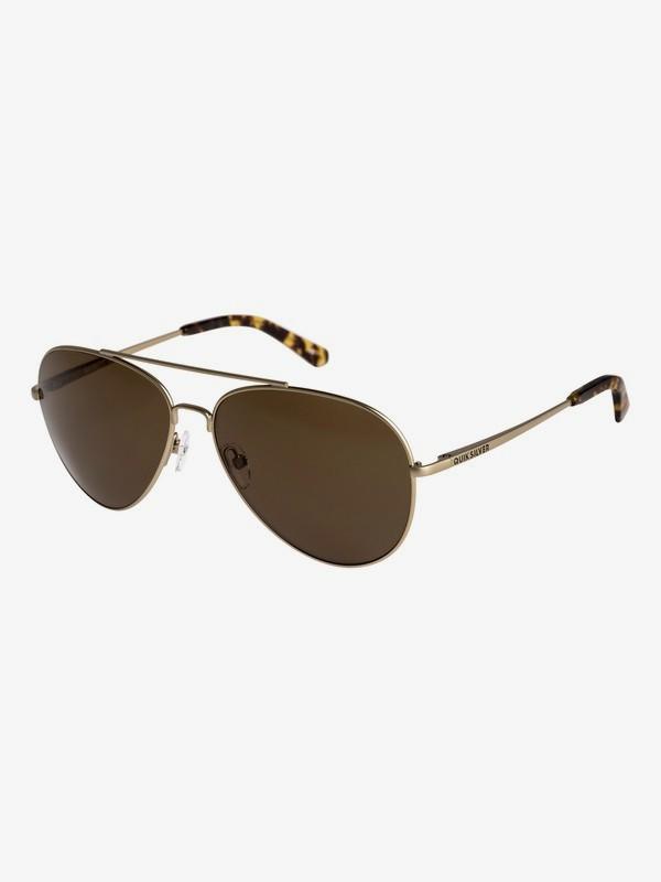 0 Barrett - Gafas de sol para Hombre Amarillo EQYEY03035 Quiksilver