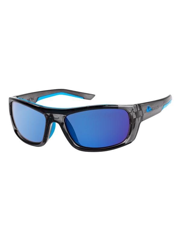 0 Knockout - Gafas de Sol para Hombre Gris EQYEY03072 Quiksilver