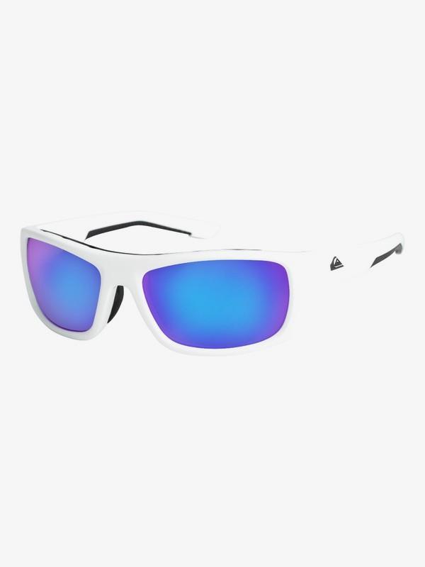 0 Knockout - Gafas de Sol para Hombre Blanco EQYEY03072 Quiksilver