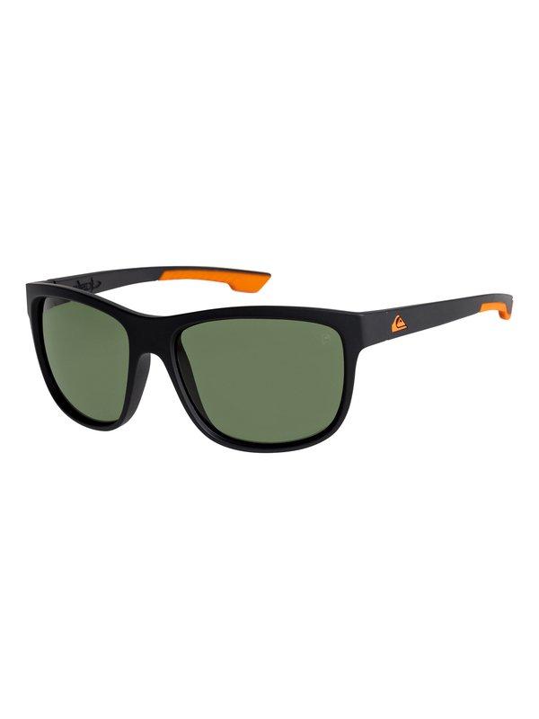 0 Crusader - Floatable Polarised Sunglasses for Men Black EQYEY03105 Quiksilver