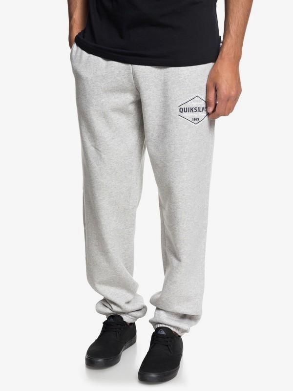 0 Quiksilver - Pantalon de jogging pour Homme Gris EQYFB03156 Quiksilver