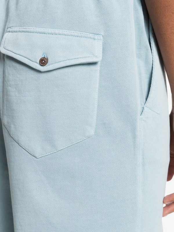 "Trip Away 19"" - Organic Sweat Shorts for Men  EQYFB03235"