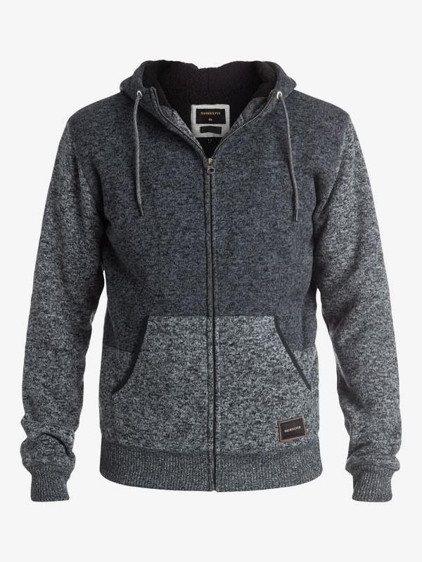 Quiksilver Keller Sherpa Zip-Up Sweats /& Hoodies Sz Medium EQYFT03437