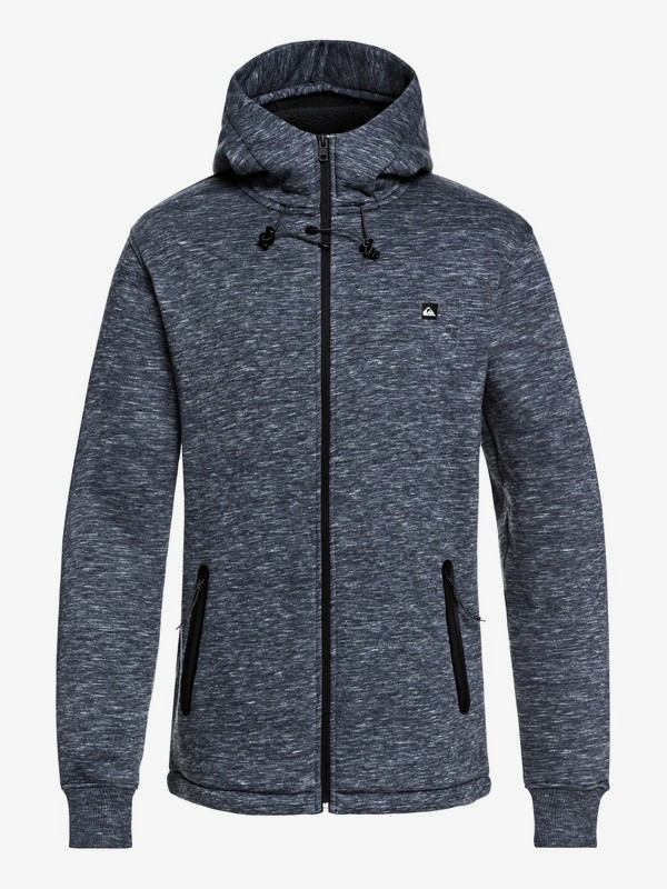 Kurow Sherpa - Bonded Zip-Up Hoodie for Men  EQYFT03833