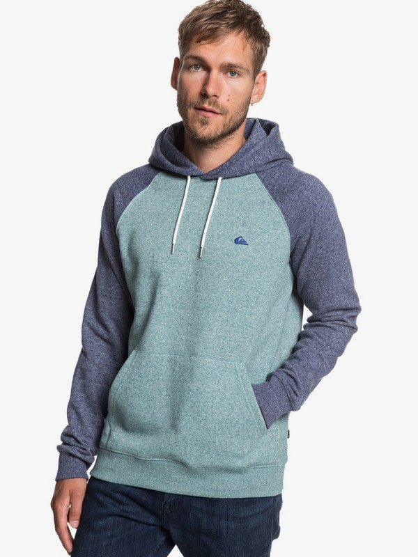 0 Everyday - Hoodie for Men Blue EQYFT03846 Quiksilver
