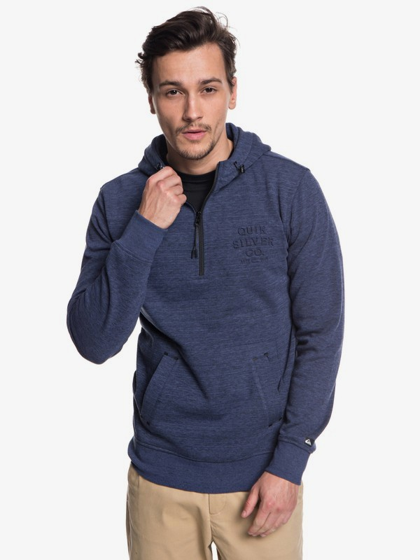 Yattemi - Technical Half-Zip Hoodie for Men EQYFT03851