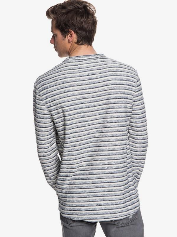 Harajuku Split - Long Sleeve Top for Men  EQYFT03878