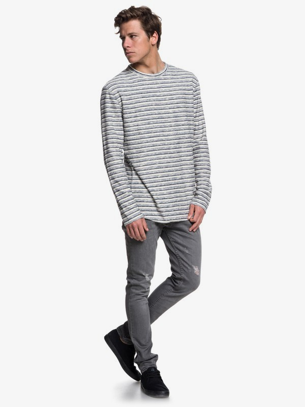 Harajuku Split - Long Sleeve Top for Men  EQYFT03878