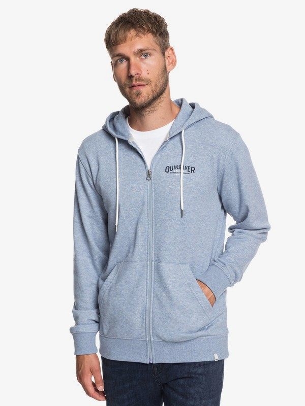 0 X Comp Elite - Zip-Up Hoodie for Men Blue EQYFT03925 Quiksilver