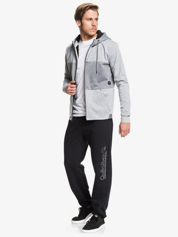 Highland Gaze - Water-Resistant Bonded Zip-Up Hoodie for Men  EQYFT03991
