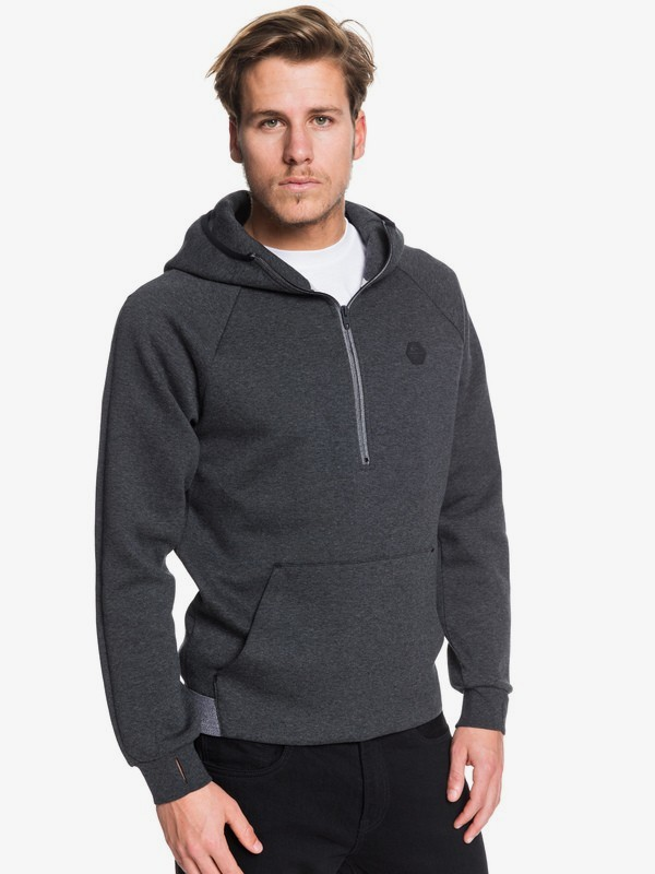 Adapt - Bonded Technical Half-Zip Hoodie for Men  EQYFT03992