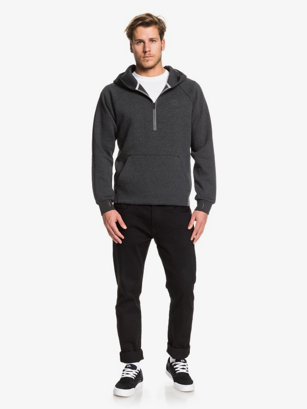 Adapt - Bonded Technical Half-Zip Hoodie for Men  EQYFT03992