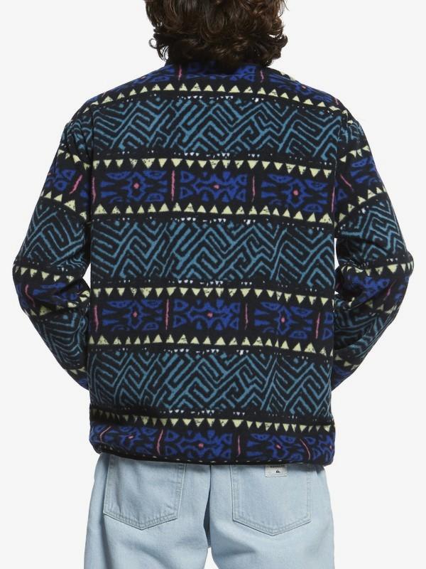 Originals - Zip-Up Mock Neck Fleece for Men  EQYFT03996