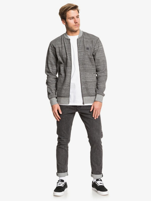Wilson Prom - Zip-Up Bomber Sweatshirt for Men  EQYFT03998