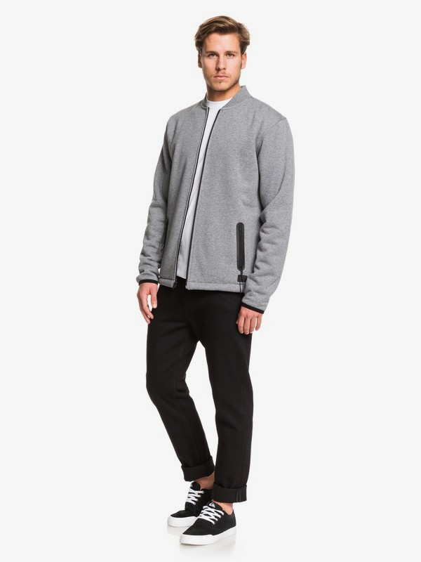 Kurow Sherpa - Zip-Up Sherpa-Lined Bomber for Men  EQYFT04006