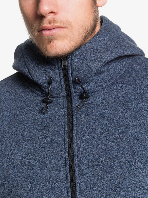 Kurow Sherpa - Zip-Up Sherpa-Lined Hoodie for Men  EQYFT04007