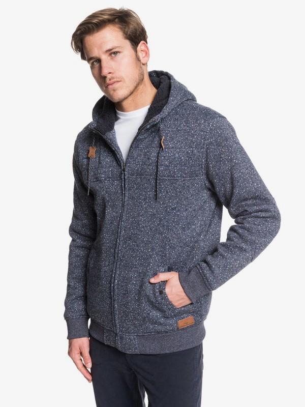Cypress Keller - Sherpa-Lined Zip-Up Hoodie for Men  EQYFT04008