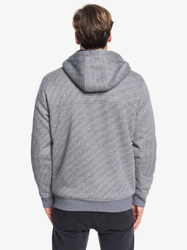 Cypress Keller - Sherpa-Lined Zip-Up Hoodie for Men  EQYFT04008