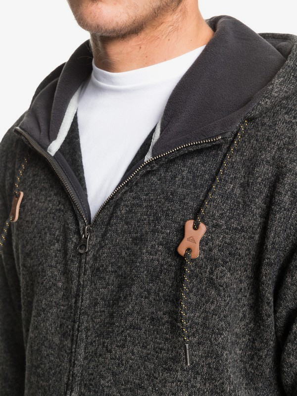 Keller Zip - Hooded Zip-Up Fleece for Men  EQYFT04010