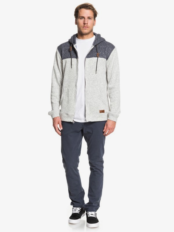 Keller Block - Fleece Lined Hoodie for Men  EQYFT04013