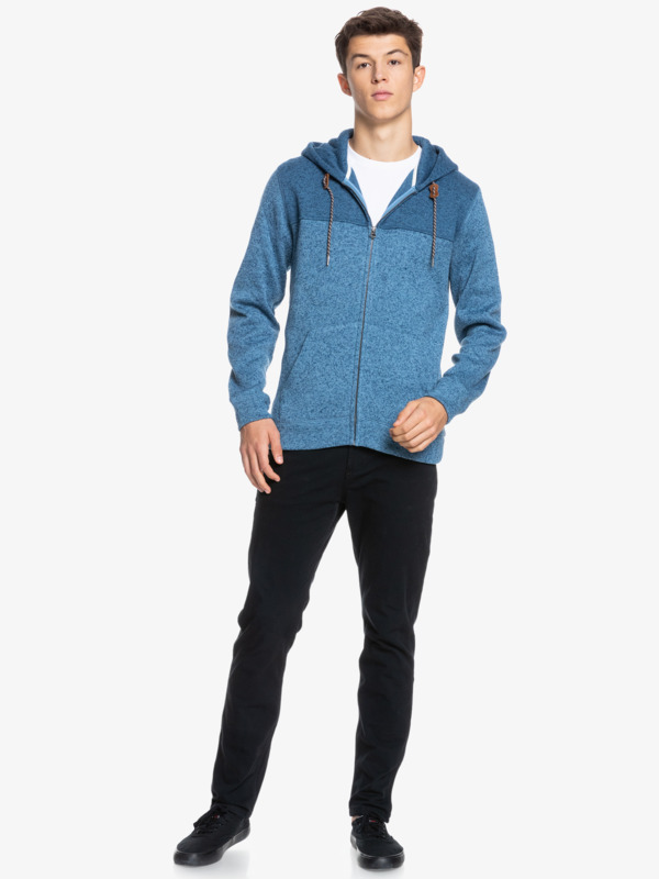 Keller Block - Fleece Lined Hoodie for Men  EQYFT04013