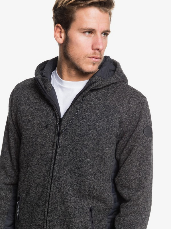 Keller Puff - Hooded Zip-Up Fleece for Men  EQYFT04015