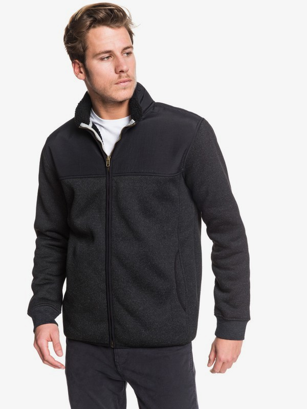 Keller Mix - Zip-Up Mock Neck Fleece for Men  EQYFT04017