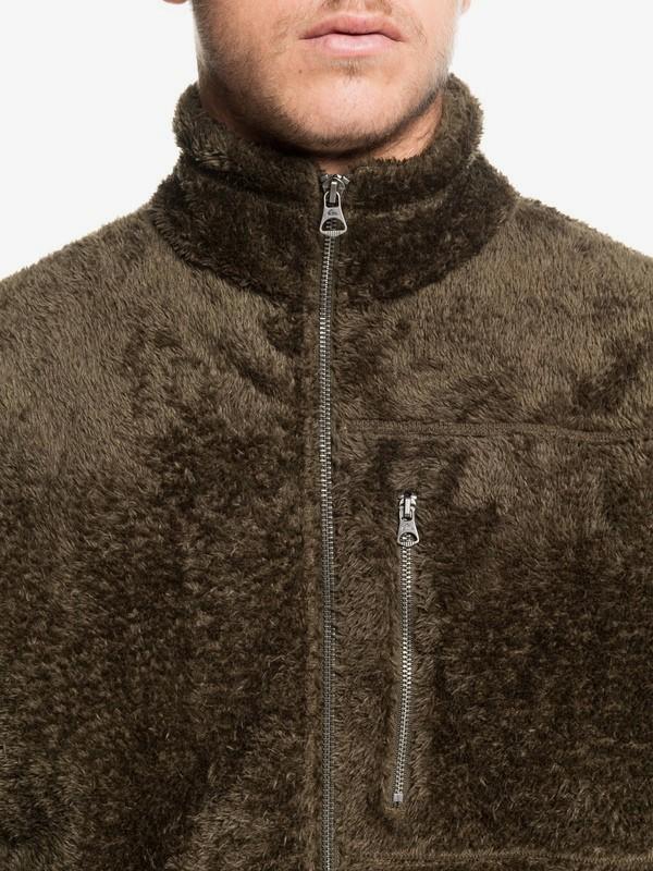 Undara Lava - Zip-Up Mock Neck Fleece for Men  EQYFT04034