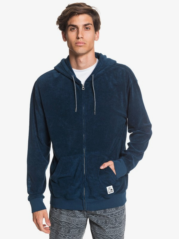 Towel - Zip-Up Hoodie for Men  EQYFT04098