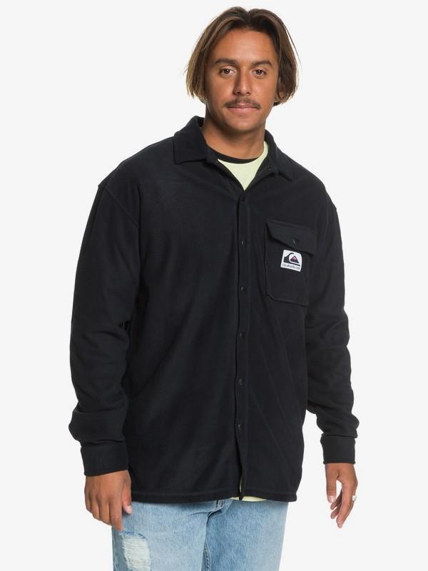 STM Quiksilver - Polar Fleece Overshirt for Men  EQYFT04167