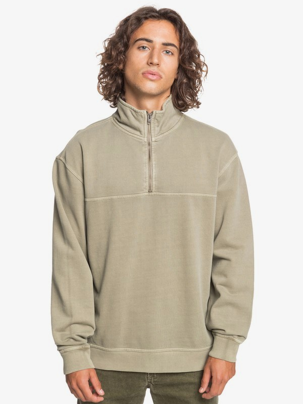 Itinga - Half-Zip Mock Neck Sweatshirt for Men  EQYFT04197
