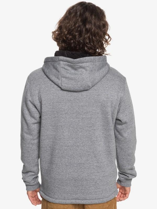Kurow Sherpa - Zip-Up Hoodie for Men  EQYFT04219