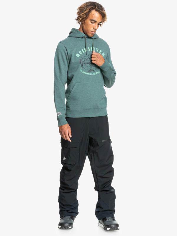 Big Logo Snow - Water Repellent Hoodie for Men  EQYFT04380
