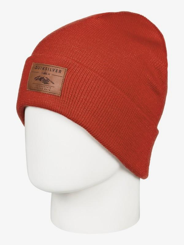 0 Brigade - Gorro para Hombre Rojo EQYHA03160 Quiksilver