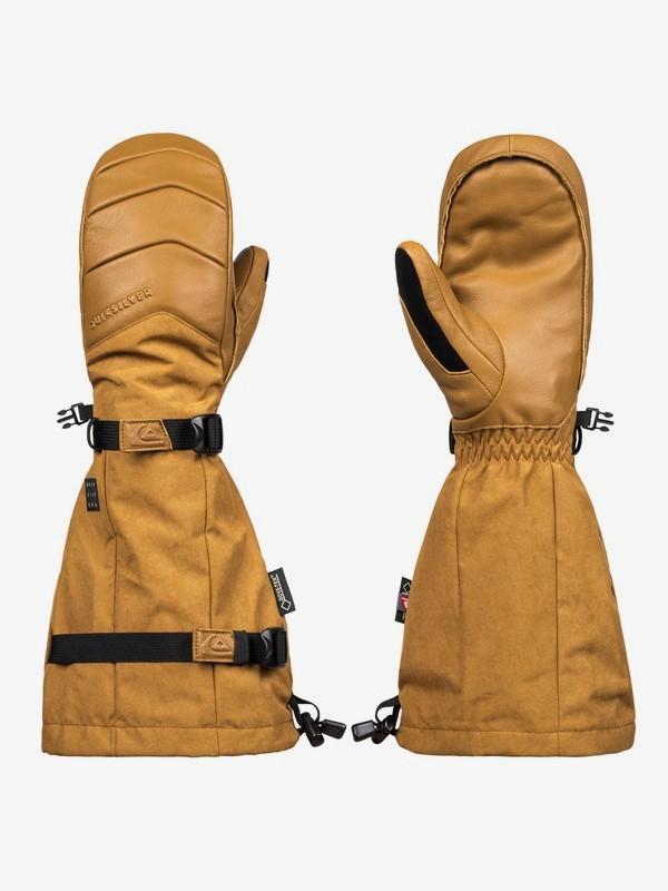 0 Сноубордические перчатки Powder Коричневый EQYHN03103 Quiksilver