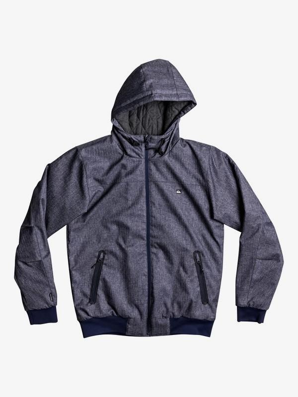 0 Brooks 5K - Waterproof Hooded Jacket for Men Blue EQYJK03241 Quiksilver