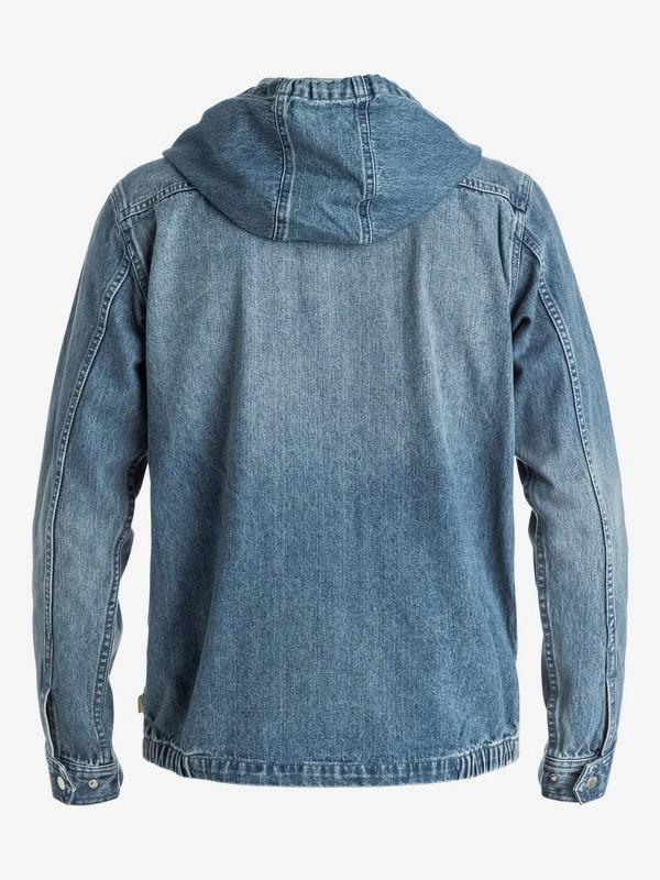 Surf Modern Originals - Hooded Denim Jacket  EQYJK03307