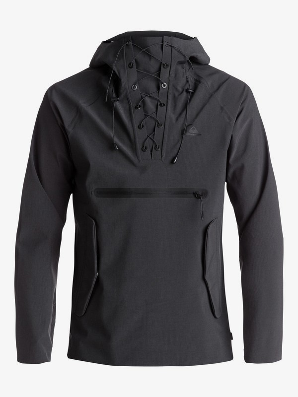 Mokoreta - Water-Repellent Technical Pullover Jacket for Men EQYJK03357