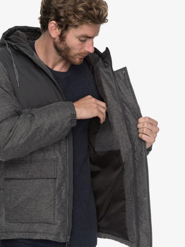 Full Fin - Waterproof Hooded Puffer Jacket for Men  EQYJK03392