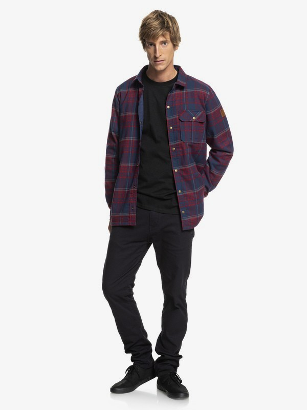 Wildard Plaid - Waterproof Over Shirt for Men EQYJK03416